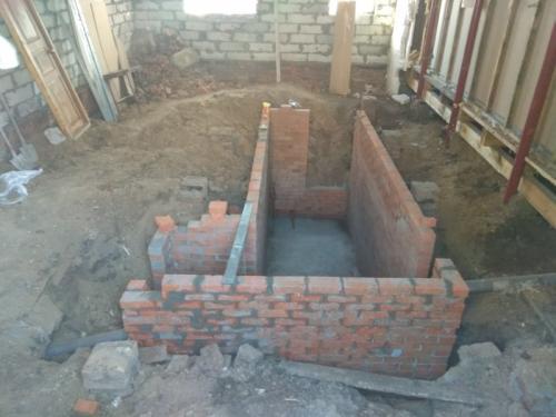 Погреб под домом, как сделать. Погреб из кирпича в частном доме своими руками в построенном уже доме
