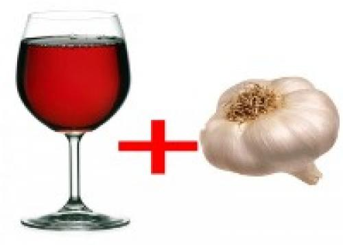 Настойка чеснока на красном вине применение. Полезные свойства напитка