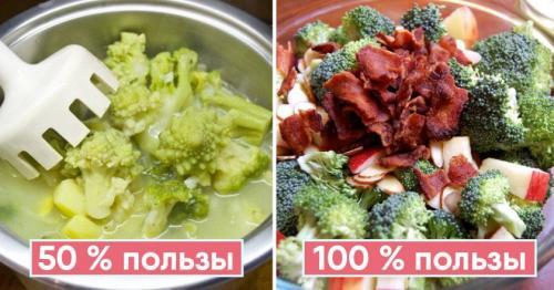 Как правильно варить брокколи. Как готовить брокколи