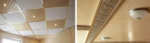 Чем отделать потолок на даче. Чем помимо вагонки можно отделать потолок в дачном доме