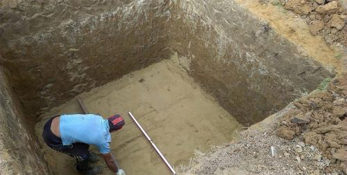Строительство погреба в доме. Строительство глубокозаглубленного погреба