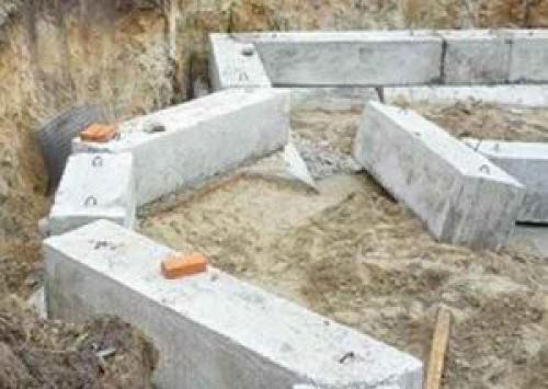 Строительство фундамента из блоков. Фундамент из ФБС блоков своими руками