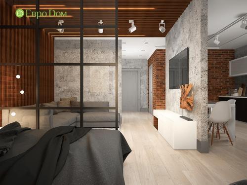 Как в квартире студии сделать ремонт в. Дизайн-проект для ремонта однокомнатной квартиры в новостройке в г. Щелково