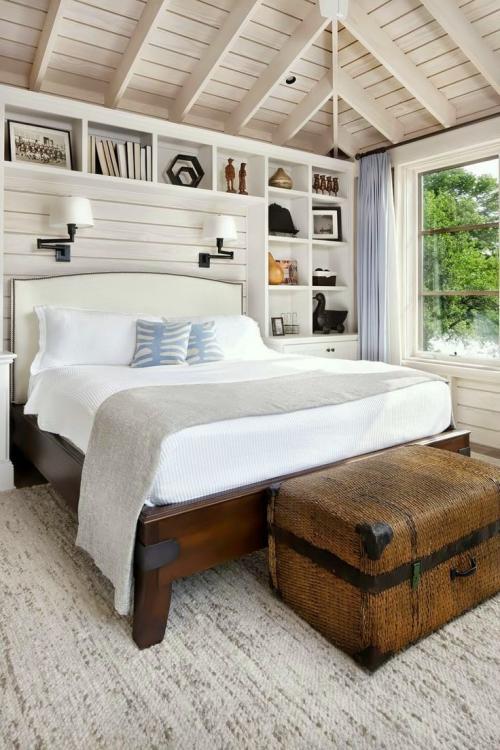 Интерьер спальни. Стиль кантри — деревенская красота