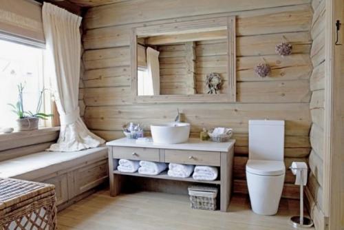 Ванная в стиле кантри. Характерные черты