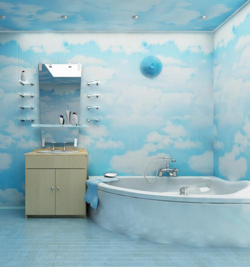 Ремонт в ванной панели. Отделка ванной комнаты пластиковыми панелями