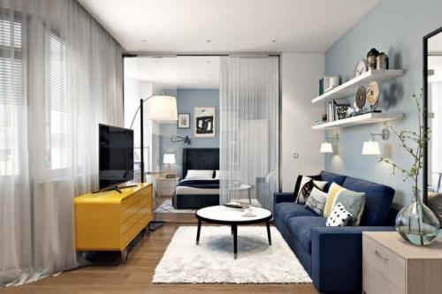 Как из однокомнатной квартиры сделать две квартиры. ВАРИАНТЫ ПЕРЕПЛАНИРОВКИ ОДНОКОМНАТНОЙ КВАРТИРЫ В ДВУХКОМНАТНУЮ