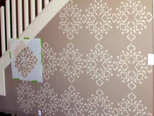 Рисунки на стене своими руками простые. Перенос изображения на стену