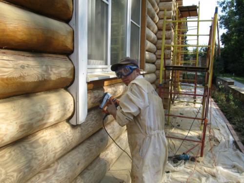 Как обновить старый деревянный дом внутри. Как обновить сруб