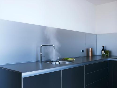 Фартук для кухни, какой лучше.  Ламинированная стеновая панель